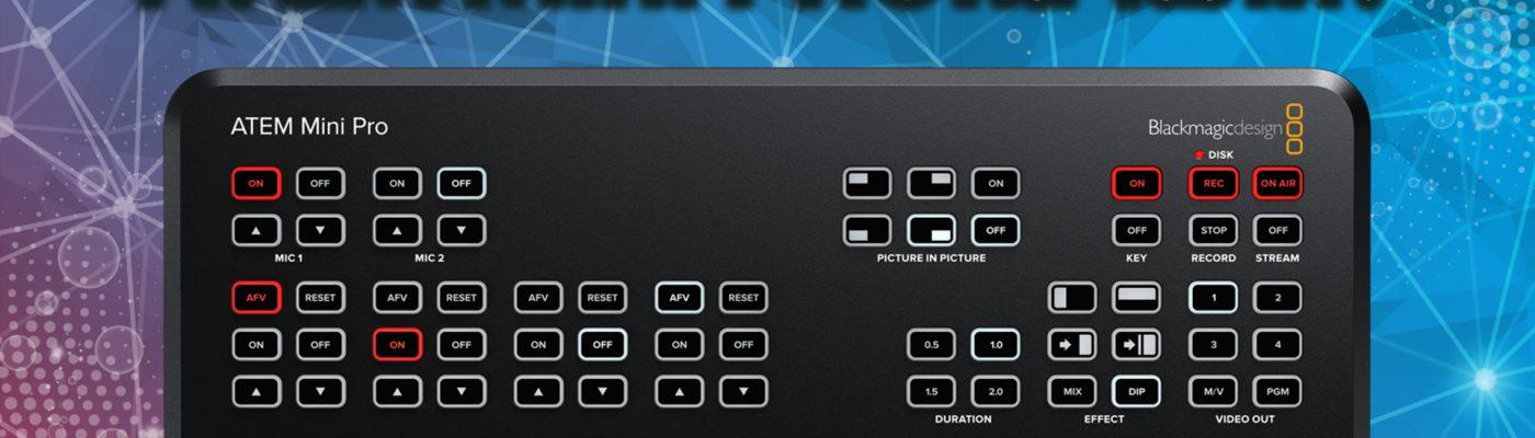 Обзор на ATEM Mini Pro